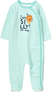 Gymboree Baby Boy Long Sleeve Footed One-Piece Sleeper