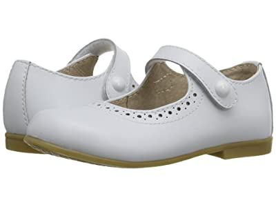 FootMates Emma (Toddler/Little Kid) (White) Girls Shoes