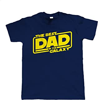 Best Dad In The Galaxy, Mens Funny T-Shirt