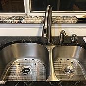 Ruvati 34 Inch Undermount 60 40 Double Bowl 16 Gauge Stainless Steel Kitchen Sink Rvm4600
