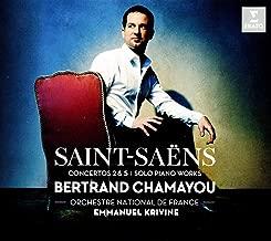 Saint-Saëns: Piano Concertos Nos. 2 & 5, pieces for solo piano