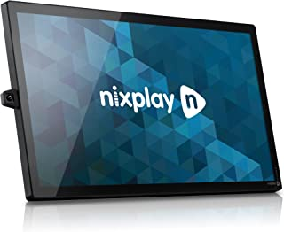"""Nixplay Signage 32""""- Simple, scalable and Stunning Digital Signage, Ready to use Right Out of The Box. Remote Content Management, Free Software Trial Included."""