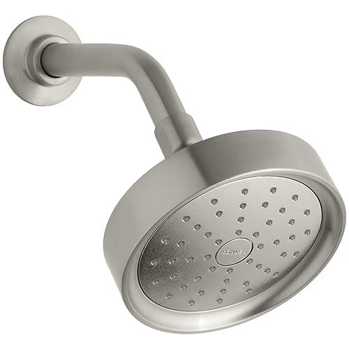5df016516e7 Kohler K-939-BN Purist 2.0 gpm Single Function Showerhead with Katalyst  Spray