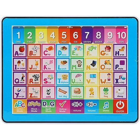 Enfants Apprentissage Pad Bébé Éducatif Smart Play Tablet Enfant Musique ABC Learning Jouet pour Lettres Mots Nombre Orthographe