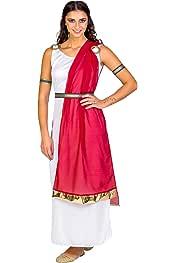 TecTake dressforfun Disfraz para Mujer de la ciudadana Romana ...