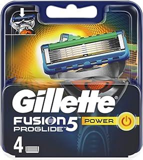 Gillette Fusion 5 Proglide Power Lamette di Ricarica per Rasoio Uomo con Tecnologia Flexball