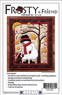 Frosty & Friend Wall Quilt Kit-13x15