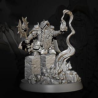 Risjc 70 mm sci-fi-tema forntida fantasy dvärg magi harts modellkit omonterad och omålad soldatkomponent — 93RJ26