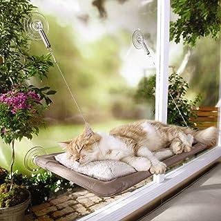 Pinji Hamaca para Gato Perca Seguro con Ventosas Durable