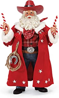Department 56 Possible Dreams Santa Sports and Leisure Sweet Stick Up Figurine, 11 Inch, Multicolor