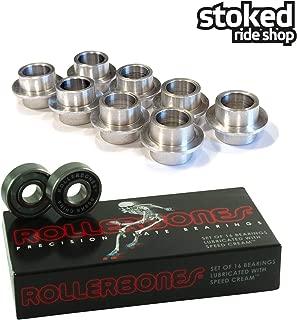 Stoked Ride Shop Bones Roller Bones Bearings [for Inline & Roller Skates]