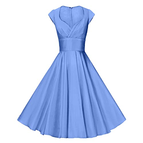 c95ef2c628fe GownTown Womens Dresses Party Dresses 1950s Vintage Dresses Swing Stretchy  Dresses