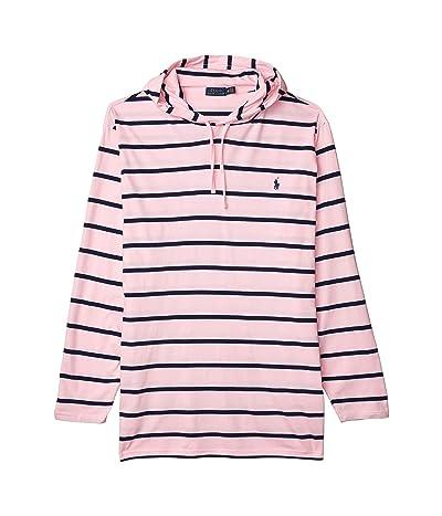 Polo Ralph Lauren Big & Tall Big Tall Long Sleeve T-Shirt (Taylor Rose/Newport Navy) Men