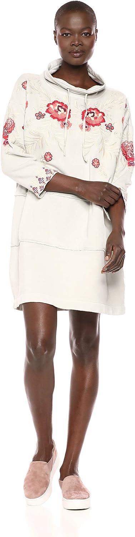JWLA By Johnny Was Womens Embroidered Sweatshirt Tunic Dress Dress