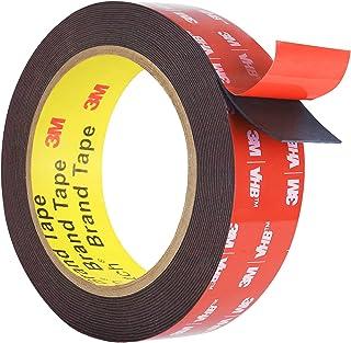 Double Sided Tape, HitLights Mounting Tape Heavy Duty, Waterproof Foam Tape, 15FT Length, 0.94 Inch Width for Car, LED Str...