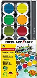 Eberhard Faber Winner 578324 kasetka z wyjmowanymi miseczkami, wersja 24