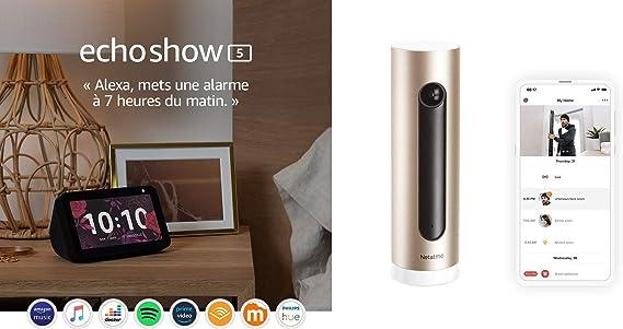 Echo Show 5 Netatmo Smarte Überwachungskamera Innen Wlan Bewegungserkennung Nachtsicht Ohne Abonnement Nsc01 Eu Welcome Alle Produkte