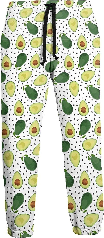 CAIJI Mens Sweatpants Lounge Sliced Free shipping Athletic Boston Mall Pants Avocado