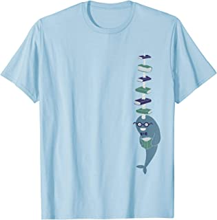 Shirt.Woot: Never Give a Narwhal a Library Card T-Shirt