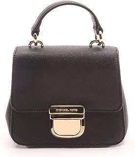 Michael Kors Black Bridgette Leather Mini Satchel Black