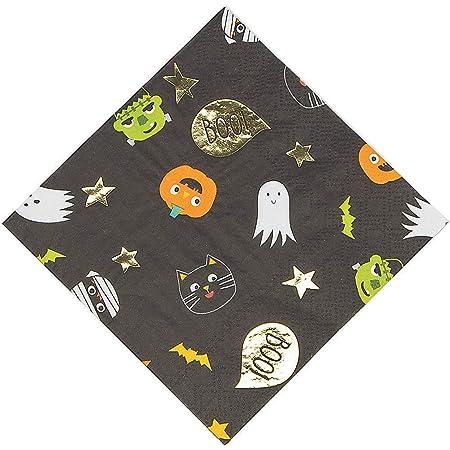 MERI MERI Halloween irisé Ghost plaques 8 Pack
