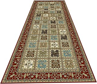 HAIPENG Non Slip Hallway Runner Rug Perfect for Hall Kitchen Staircase Corridor, Extra Long Entryway Carpet, Cuttable, Eur...