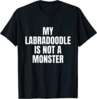 Labradoodle Fact Dog Lover Owner Clothes Gift Labradoodle T-Shirt