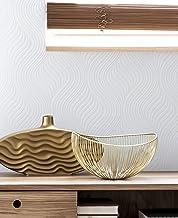 Graham & Brown 10-014 Paintable Pure Geometric White Wallpaper