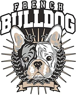 wetterfester Aufkleber French Bulldog BOSS