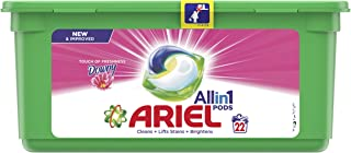 Ariel All In 1 Pods Touch Of Freshness Downy, 22 Count
