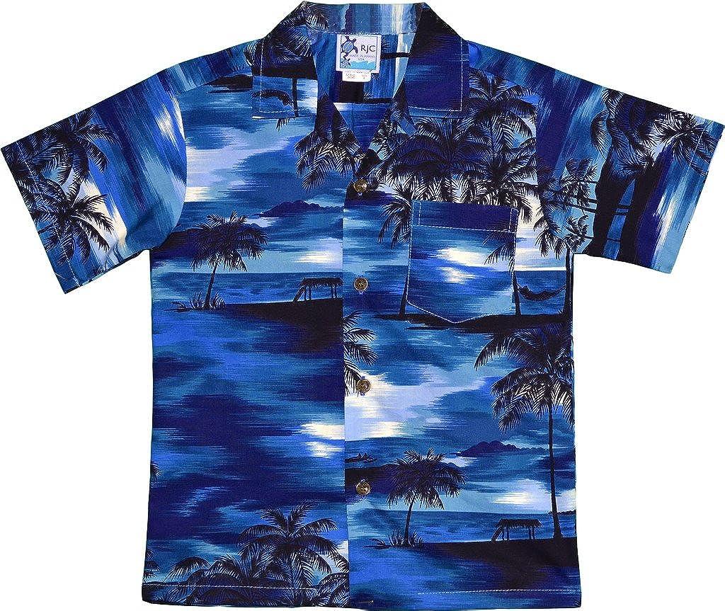 Tampa Mall Bargain sale RJC Boy's Waimea Sunset Hawaiian Shirt