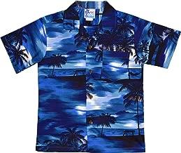 RJC Boy's Waimea Sunset Hawaiian Shirt