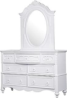 Pulaski Princess Youth Dresser with Mirror