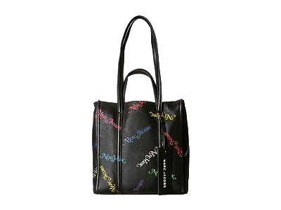 Marc Jacobs New York Magazine(r) x Marc Jacobs The Tag Tote (Black) Handbags