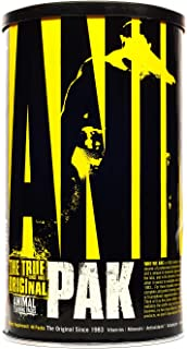 Animal Pak - the Complete All-in-one Training Pack - Vitamin Pack for Men, Amino Acids, Zinc and more - for Elite Athletes...