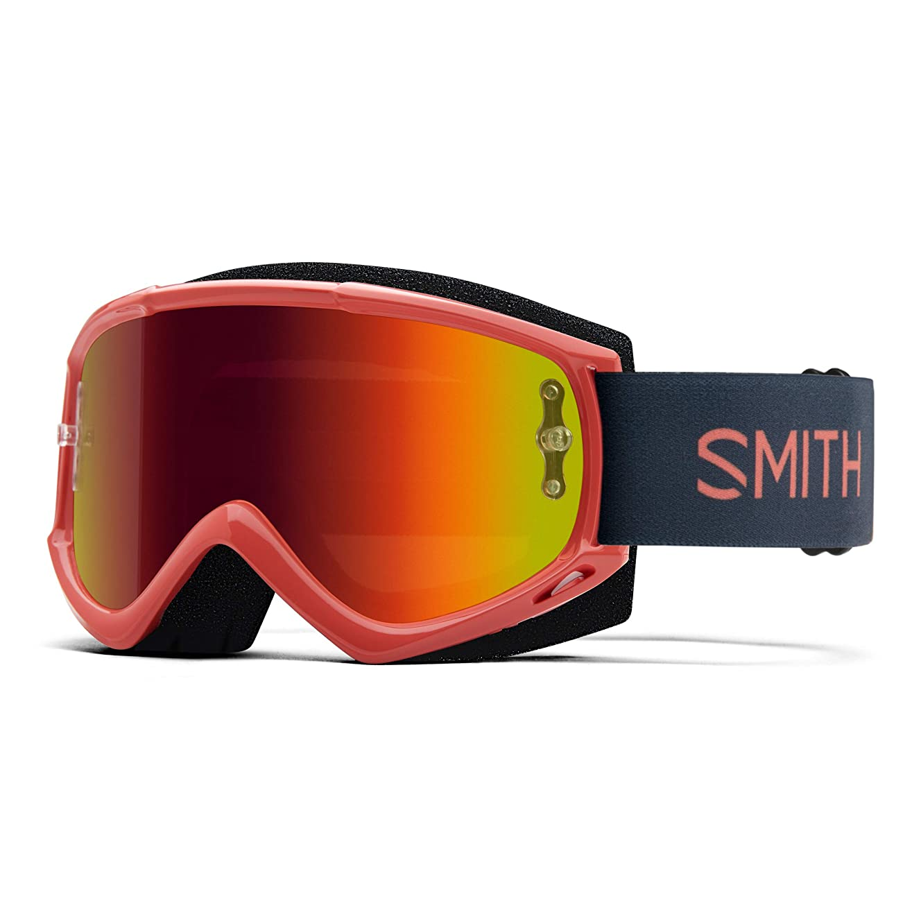 Smith Optics Fuel V.1 Adult Off-Road Cycling Goggles - Red Rock/Red Mirror/One Size
