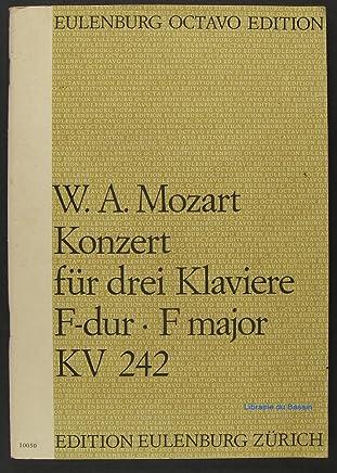 Mozart: Concerto for Violin and Orchestra G major/G-Dur/Sol Majeur K 216 (Edition Eulenburg)