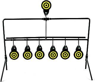 KNINE OUTDOORS 6 Targets Air Gun Pellet BB Gun Resetting Target, Rated for .22 .177 Caliber