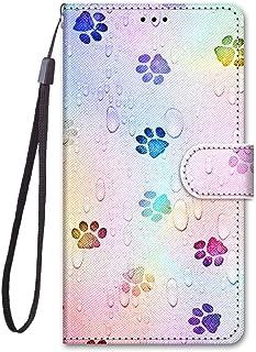 För Meizu M6T/Meiblue 6T/Meilan 6T fodral PU-läder skydd söt målad kortplats plånbok flip fodral (a13)