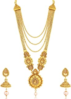 Sukkhi Jewellery Jewellery Set for Women (Golden) (N79602)