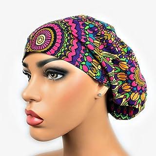 1626e45bb90 Euro Surgical Scrub Hats Women s Adjustable Bouffant Cap Bohemian Rhapsody