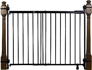 Summer Infant Summer Metal Banister & Stair Safety Gate (Black)