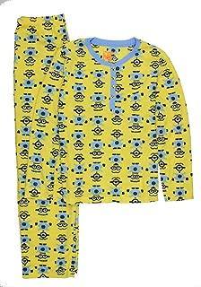 Despicable Me Minions Waffle Fleece Pajama Sleep Set