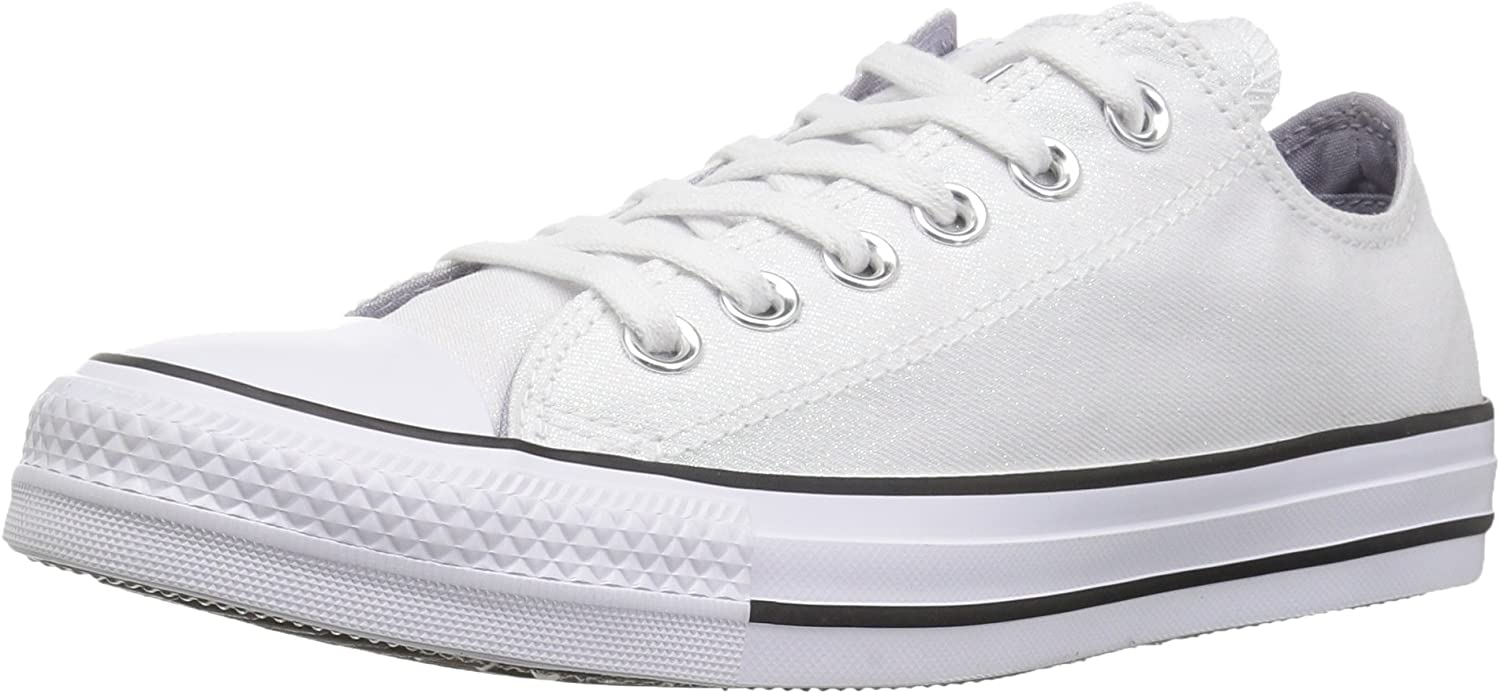 Converse Womens Chuck Taylor All Star Shiny Tile Low Top Sneaker