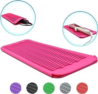 hair straightener pouch mat