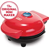Dash DMS001RD Mini Maker Electric Round Griddle for Individual Pancakes