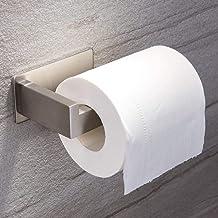 Ruicer toiletrolhouder zonder boren wc-rolhouder zelfklevende papieren houder roestvrij staal voor badkamer Single Toilett...