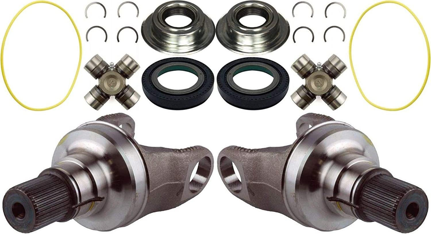 Dana Super 60 Axle Stubs Seals U All items free Washington Mall shipping and Greasable 05-14 Joints For