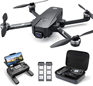 Holy Stone HS720E 4K EIS Drone with UHD Camera for Adults, Easy GPS Quadcopter for Beginner with 46mins Flight Time, Brushless Motor, 5GHz FPV Transmission, Auto Return Home, Follow Me& Anti-shake Cam