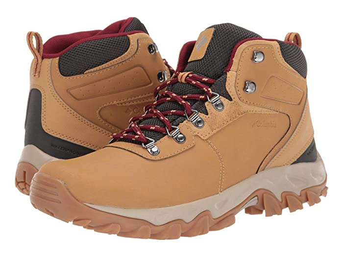 Columbia  Newton Ridge Plus II Waterproof (Curry/Red Jasper) Mens Waterproof Boots